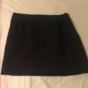 J. Crew wool skirt with ribbon detail
